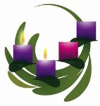 advent candle circle wreath